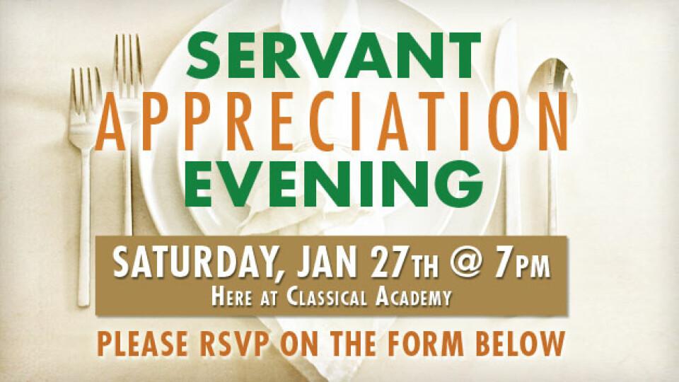 Servant Appreciation Evening