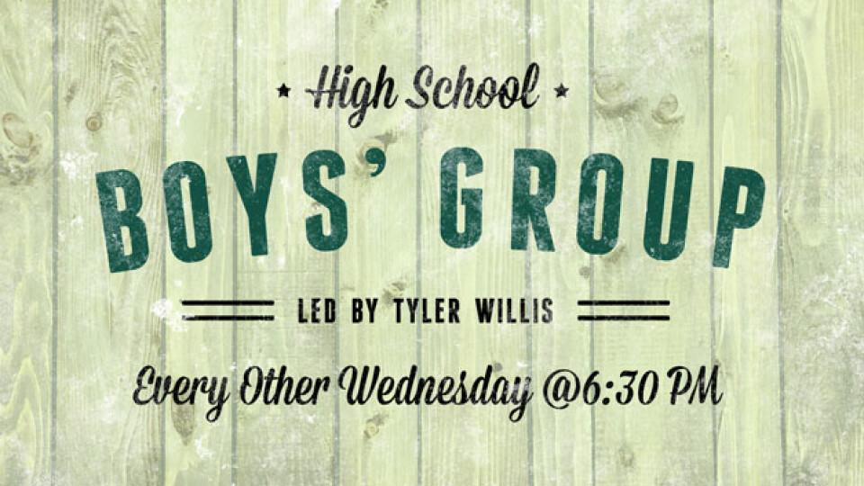 High School Boys' Group